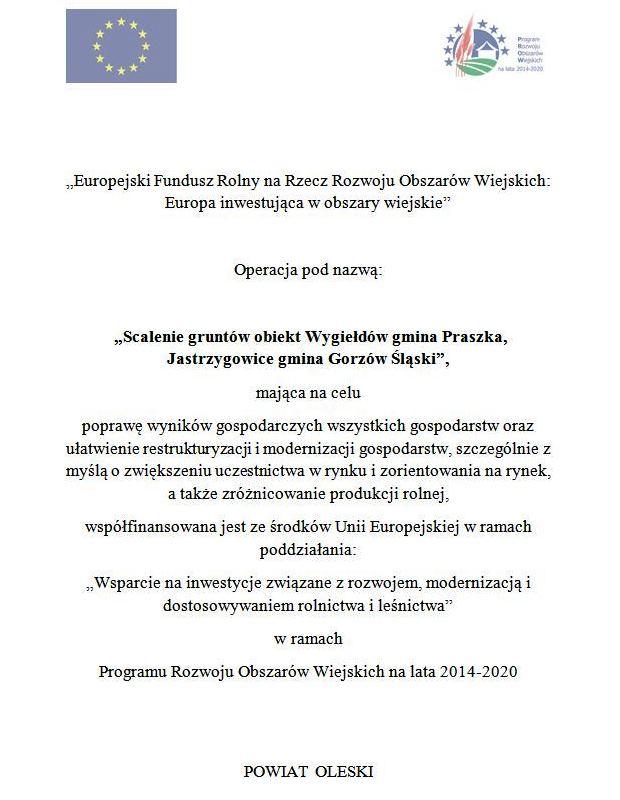 Scalenie gruntów obiekt Wygiełdów gmina Praszka, Jastrzygowice gmina Gorzów Śląski.jpeg